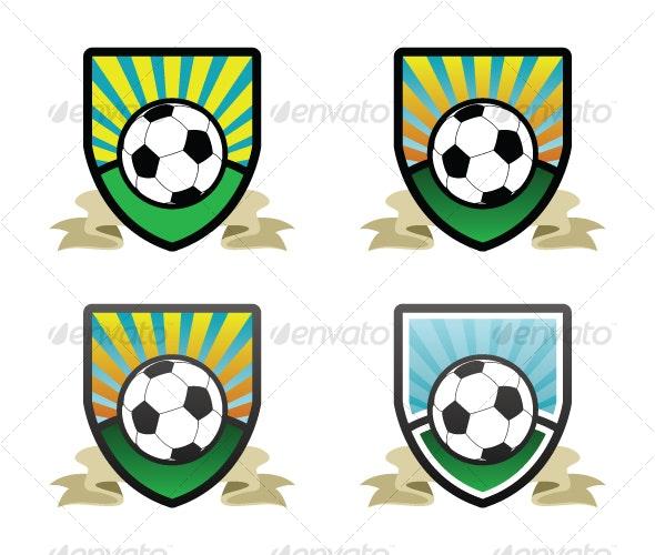 Soccer Shield / Emblem - Sports/Activity Conceptual