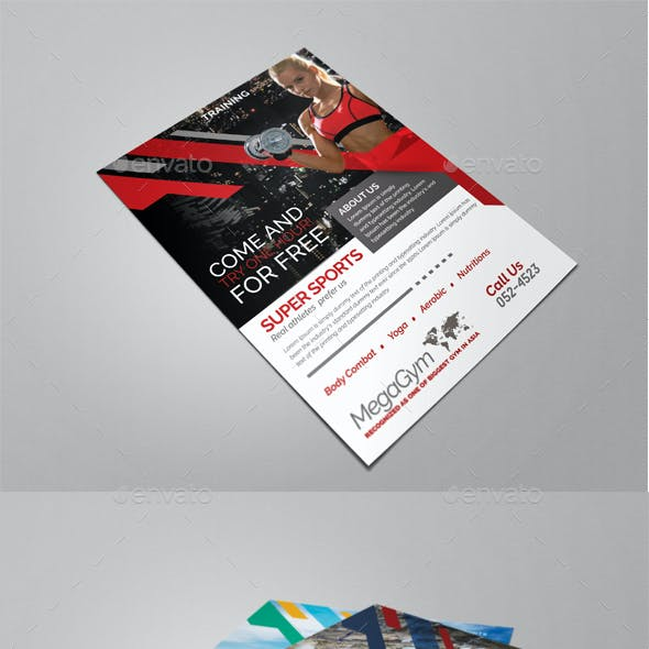 Sports and Fitness Flyer
