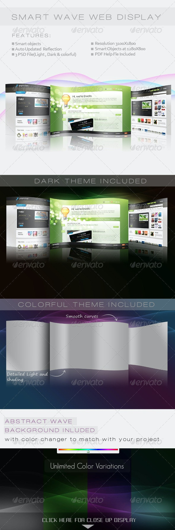 Smart Wave Web Display - Miscellaneous Web Elements