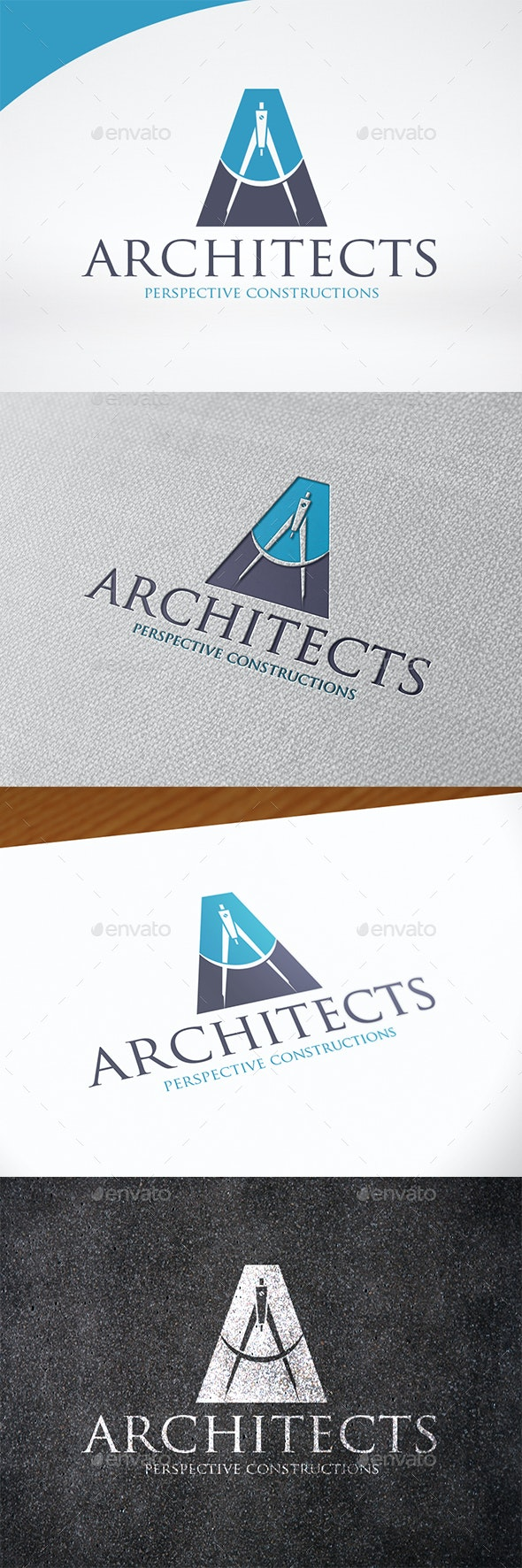 Architects Letter A Logo Template - Letters Logo Templates