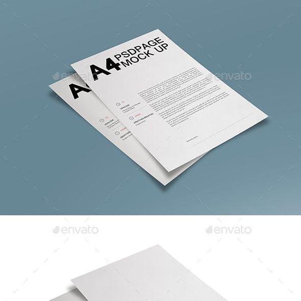 A4 Page MuckUP 02