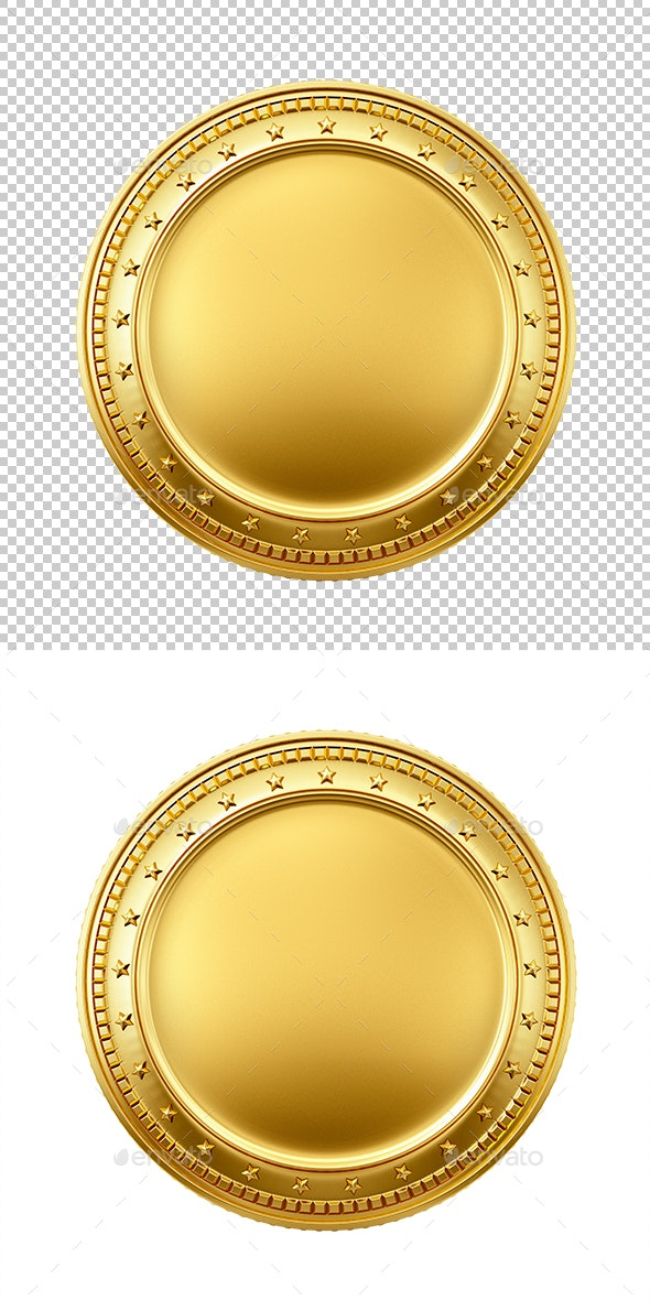 Gold coin - Objects 3D Renders
