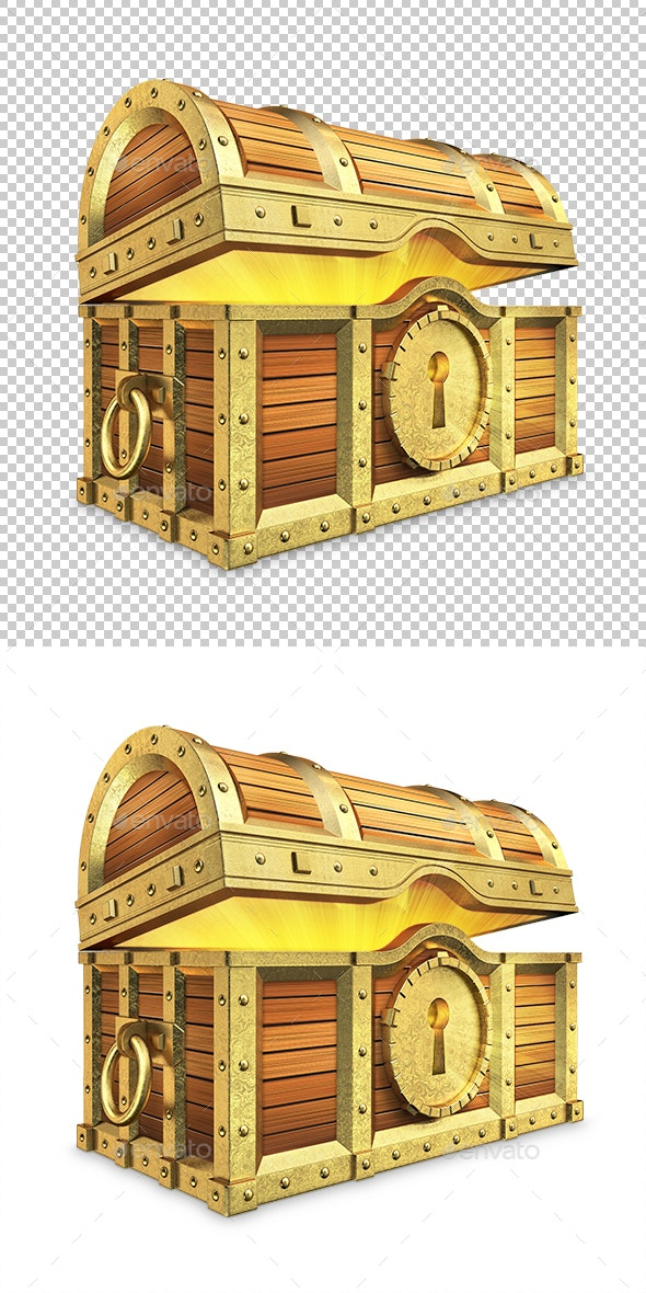 Treasure Chest - Objects 3D Renders