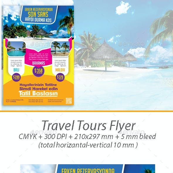 Travel Tours Flyer