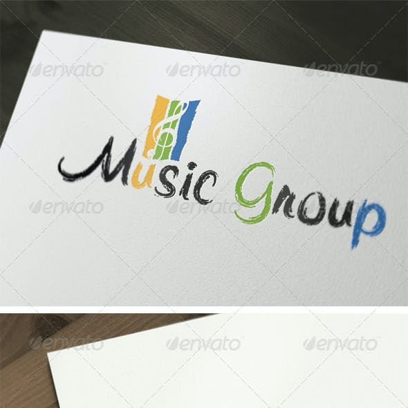Music Group Logo Template