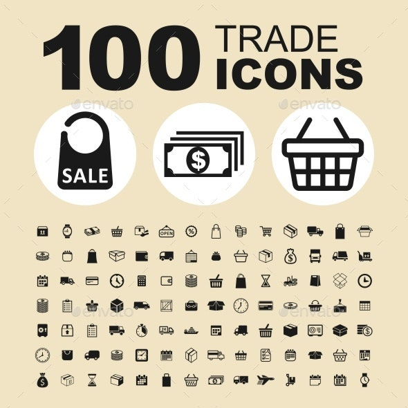 Trade Vector Icons - Business Icons