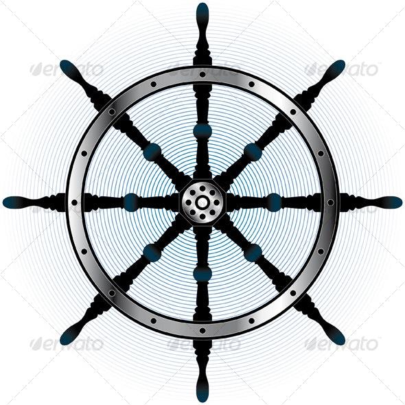 steering wheel - Decorative Symbols Decorative