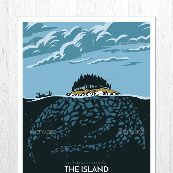 The Island Flyer Poster