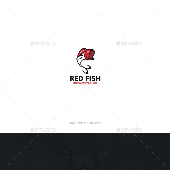 Red Fish Logo