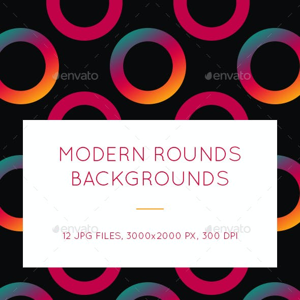 Modern Rounds Backgrounds