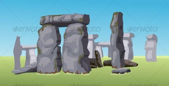 Stonehenge - Buildings Objects