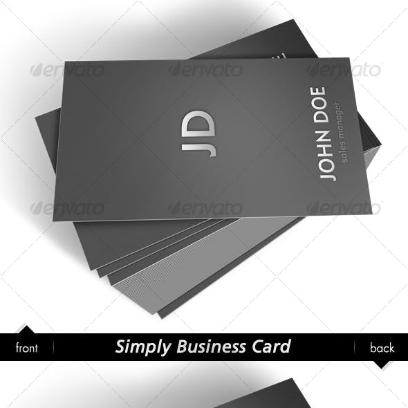 Simply Business Card