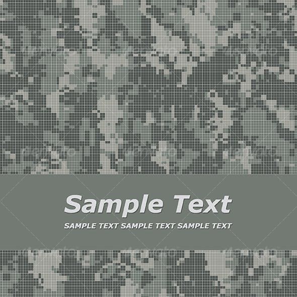 camouflage title page