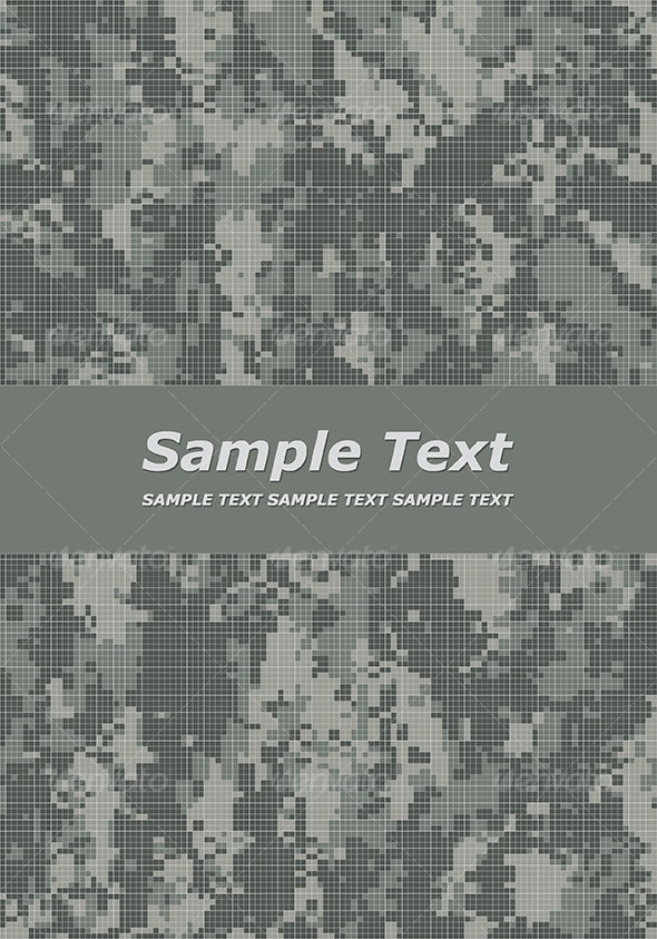 camouflage title page - Backgrounds Decorative