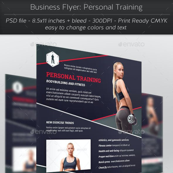 Business Flyer: Personal Training