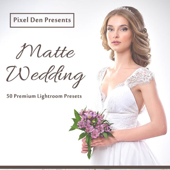 50 Premium Matte-Wedding Lightroom Presets