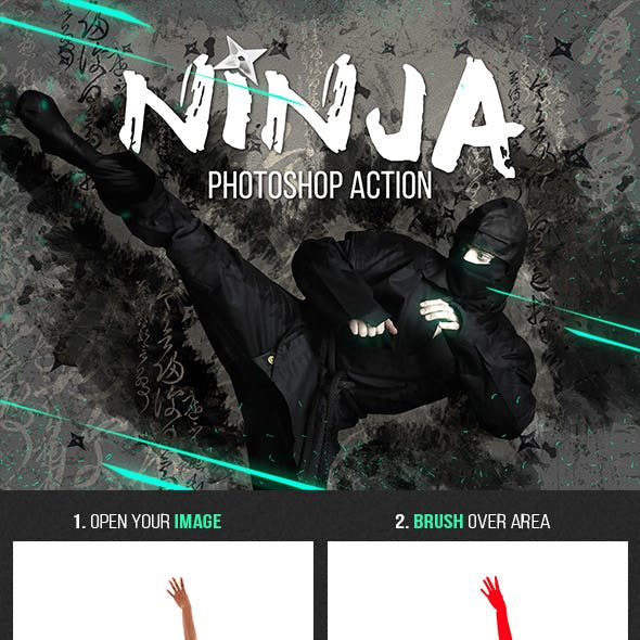 Ninja Photoshop Action