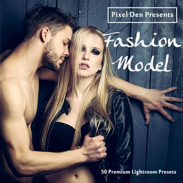 50 Premium Fashion-Model Lightroom Presets