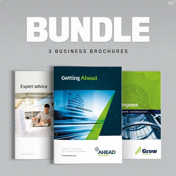 Business Brochure Bundle Vol. 1-2-3