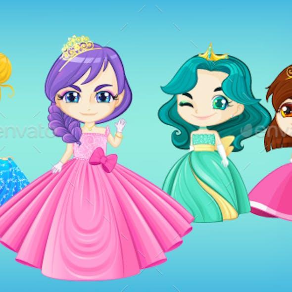 Princesses Set