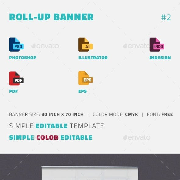 Banners and Promotion Stationery and Design Template