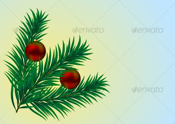 Holiday Branch - Backgrounds Decorative