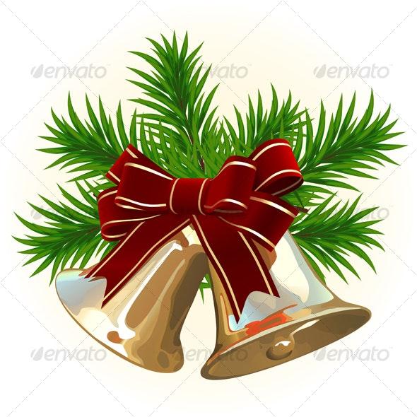 Christmas Bells - Backgrounds Decorative
