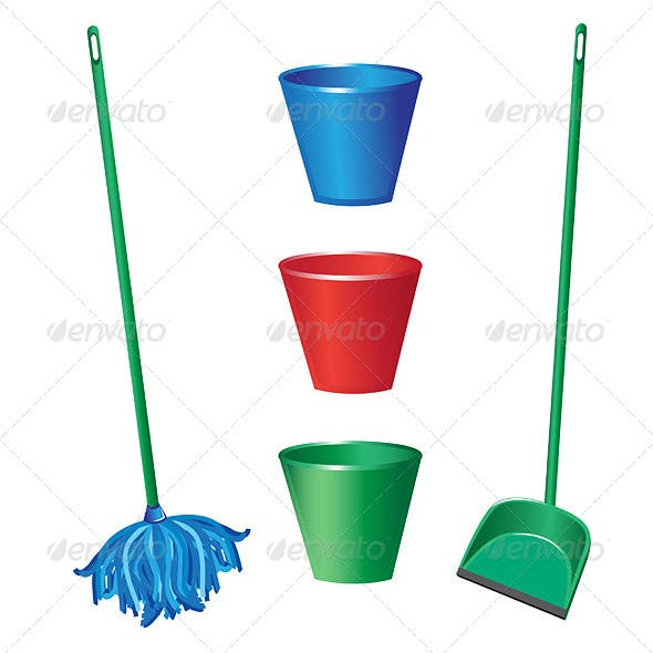 Floor cleaning objects