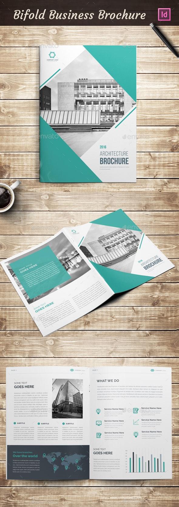 Bifold A4 Brochure - Corporate Brochures