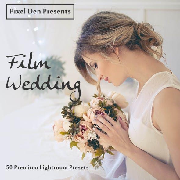50 Premium Film-Wedding Lightroom Presets
