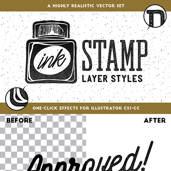 Stamp Effect Graphics, Designs & Templates from GraphicRiver