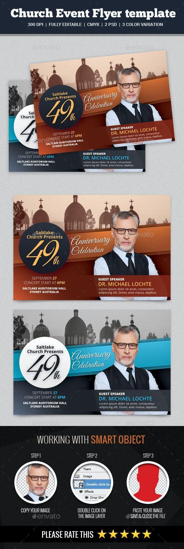 Church Event Flyer - Church Flyers