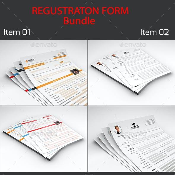 Registration Form Bundle