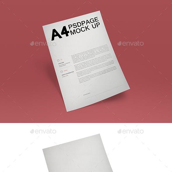 A4 Page MuckUP 03