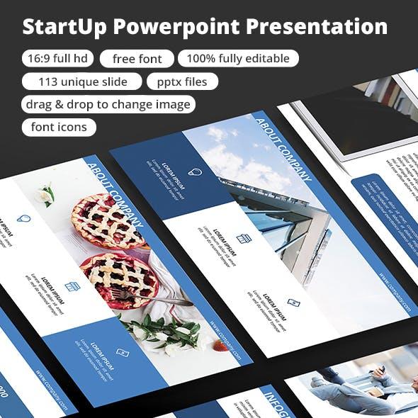 StartUp - Powerpoint Presentation