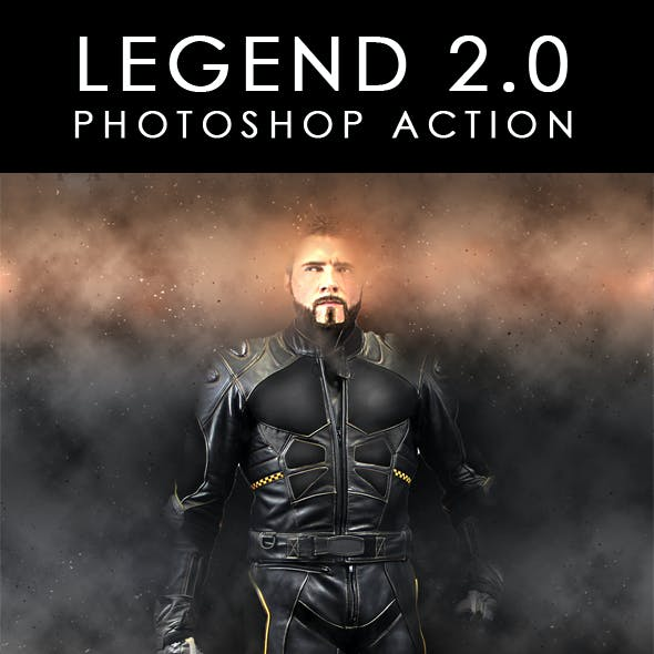 Legend 2.0  Photoshop Action