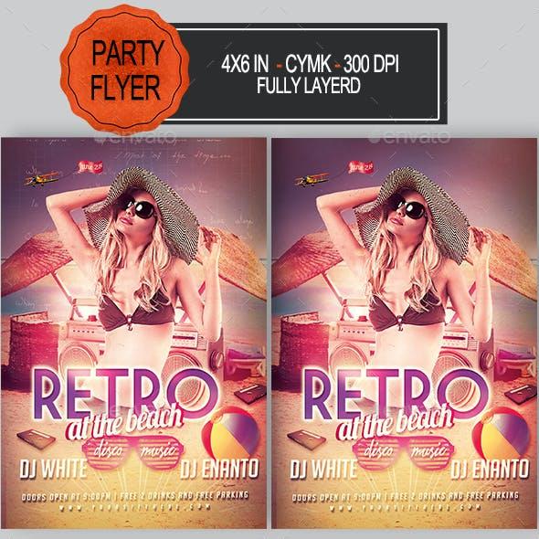 Summer Retro Flyer