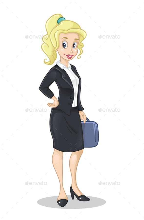 Business Lady - People Characters