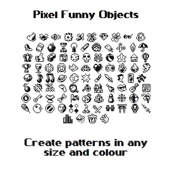 Pixel Funny Objetcs
