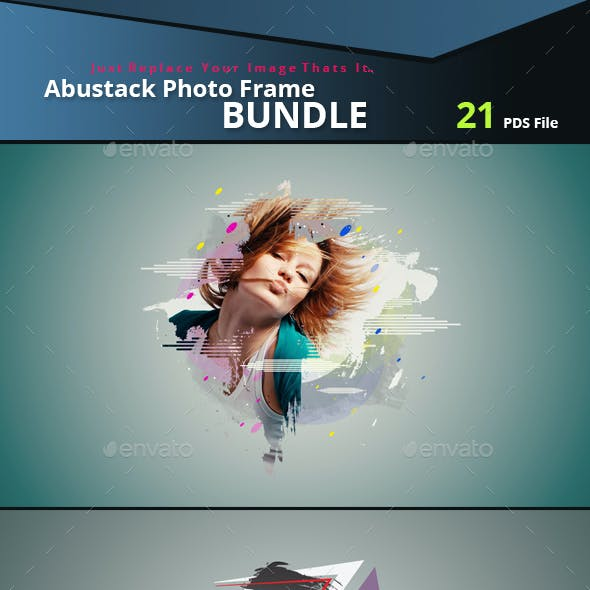 Abstrakt Photo Frame Bundle