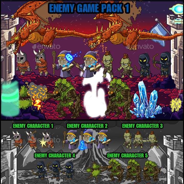 Enemy Game Pack 1