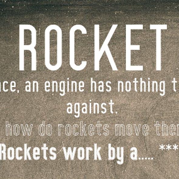 The Rocket font