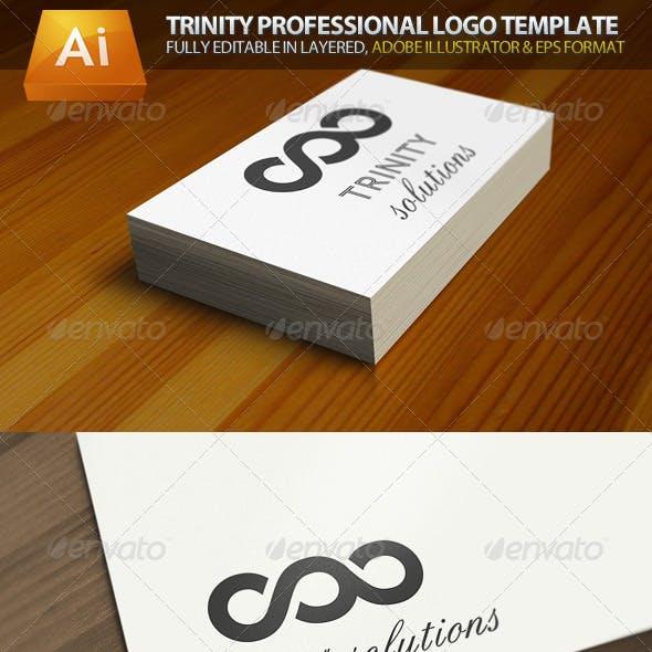 Trinity Infinity Professional Logo Template