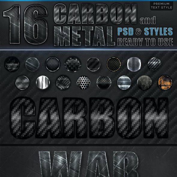 Carbon and Metal Styles