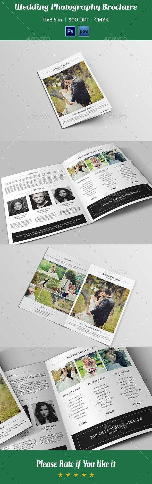 Wedding Photography Brochure Template-V010 - Corporate Brochures