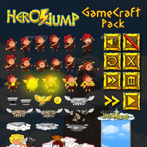 Hero Jump - Game Assets