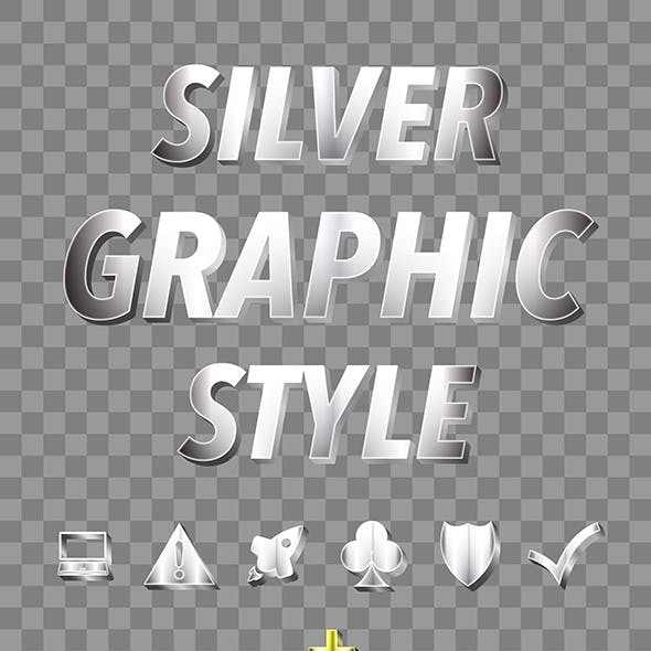 Silver and Gold Graphic Styles