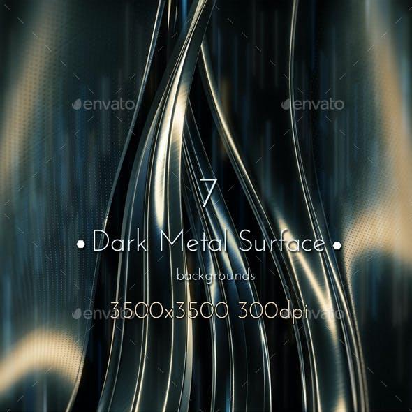 Dark Metal Surface
