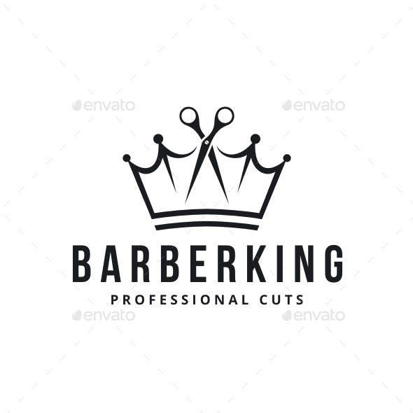Barber King Logo