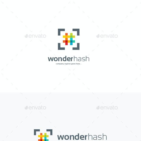 WonderHash Logo Template
